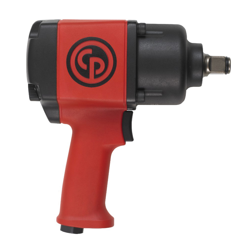 CP 8941077630 Impact Wrench, 3/4 in Drive, 136 to 1288 N-m Forward/1630 N-m Reverse Torque, 30 cfm Air Flow, 8.8 in OAL
