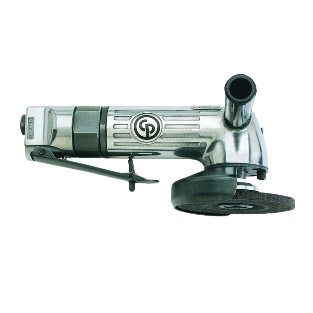 CP T023186 Angle Grinder, 4 in Dia Wheel, 3/8-24 Arbor/Shank, 0.7 hp, For Wheel: Type 27, Tool Only