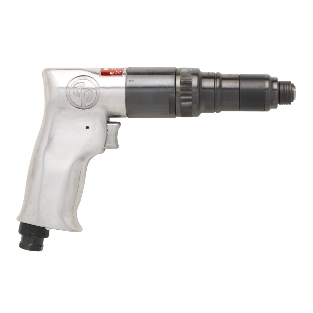 CP T025096 Screwdriver, 6.2 to 11.3 N-m Torque, 25 cfm Air Flow, Cushion Clutch, 8.4 ft-lb Max Working Torque, Tool Only