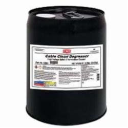 CRC® 02067 Cable Clean® Heavy Duty High Voltage Non-Flammable Degreaser, 5 gal Pail, Liquid, Clear, Strong Solvent