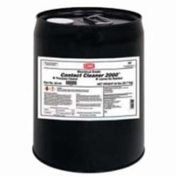 CRC® 02142 2000® Non-Flammable Precision Contact Cleaner, 5 gal Pail, Faint Ethereal Odor/Scent, Clear, Liquid