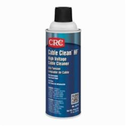 CRC® 02170 Cable Clean® HF™ High Voltage Non-Flammable Cable Cleaner, 16 oz Aerosol Can, Liquid Form, Slight Hydrocarbon, Clear
