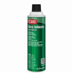 CRC® 03018 Trans-Kleen Extremely Flammable Spray Adhesive, 24 oz Aerosol Can, Off-White, 130 deg F