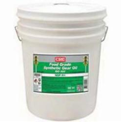 CRC® 04242 Combustible Synthetic Gear Oil, 5 gal Pail, Mild Odor/Scent, Liquid Form, Food/ISO 460 Grade, Clear