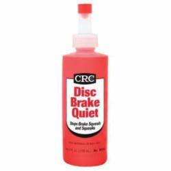 CRC® 05016 Dry Film Non-Flammable Disc Brake Quiet, 4 oz Bottle, Paste, Red, Acrylic