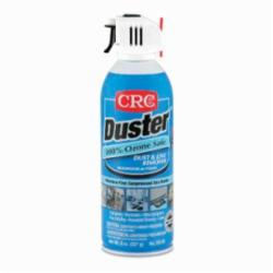 CRC® 05185 Duster™ Extremely Flammable Moisture-Free Dust and Lint Remover, 16 oz Aerosol Can, Liquified Gas Form, Faint Ethereal Odor/Scent, 8 oz