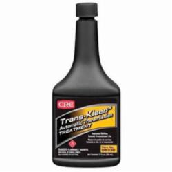 CRC® 05332 Trans-Kleen™ Flammable High Mileage Automatic Transmission Treatment, 12 oz Bottle, Liquid, Light Amber, Petroleum