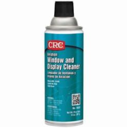 CRC® 10420 Non-Flammable Aviation Window Cleaner, 16 oz Aerosol Can, Mild Odor/Scent, Clear, Liquid Form