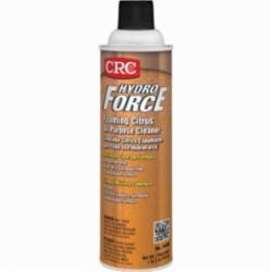 CRC® HydroForce® 14400 HydroForce® All Purpose Foaming Citrus Non-Flammable General Purpose Cleaner, 20 oz Aerosol Can, Citrus Odor/Scent, Amber, Hazy Liquid Form