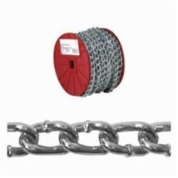 Campbell® AW0320427 Machine Chain, Twisted Link, #4 Trade, 100 ft L, 205 lb Load