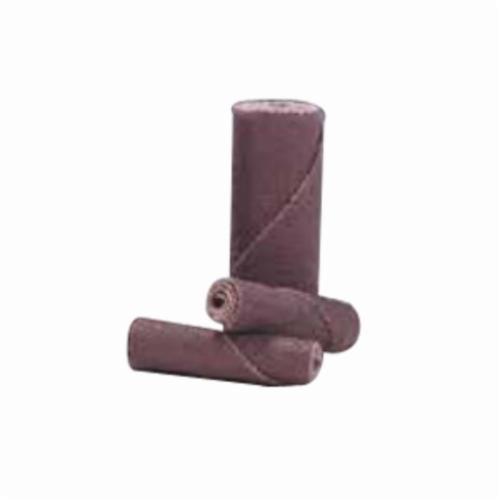 Merit® 08834180506 M-22 Coated Cartridge Roll, 3/4 in Dia x 2 in OAL, 1/4 in Pilot Hole, 60 Grit, Aluminum Oxide Abrasive
