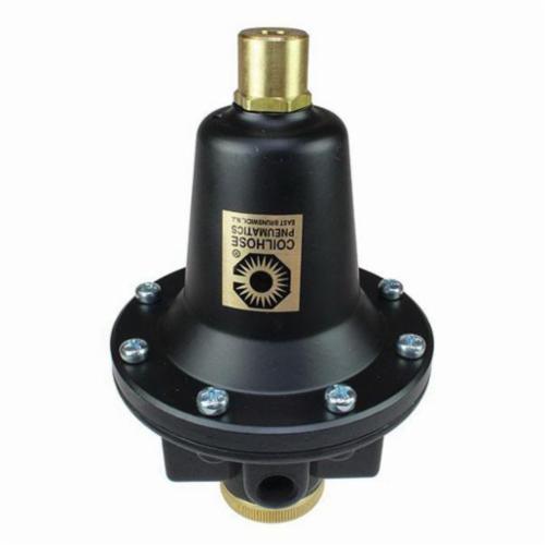 Coilhose® 8802K Series 88 Heavy Duty Standard Tamperproof Compressed Air Regulator, 1/4 in FNPT, 40 cfpm Flow Rate, 0 to 125 psi Pressure