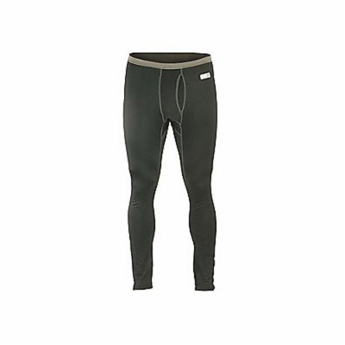 Core Performance Work Wear® 40804 6480 Long Ripped Fit Thermal Underwear Work Wear Bottoms, Men's, 34 to 37 in Waist, Black, Polyester