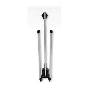 Cortina® Quadra Flex™ VI 07-801-1 Sign Stand, For Use With 36 and 48 in Roll-Up Sign