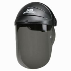 Crews 105 XO Skeleton® Scratch Resistant Faceshield Headgear, Black/Gray, Nylon, Ratchet Adjustment