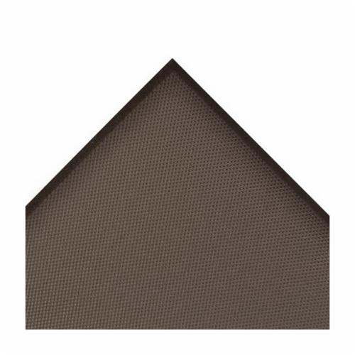Crown® CD3423DB 505 Ultra Anti-Fatigue Mat, 3 ft L x 2 ft W x 7/8 in THK, Non-Porous Extruded PVC, Deckplate Surface Pattern, Industrial Grade PVC Foam Base, Resists: Flame, Slip and Wear