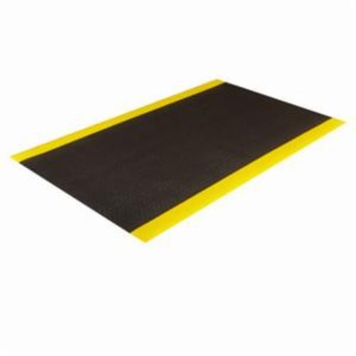 Crown® Comfort-King™ CK 0023YB 440 Standard Anti-Fatigue Mat, 3 ft L x 2 ft W x 3/8 in THK, Zedlan™ Foam, Textured Surface Pattern, Resists: Slip and Wear