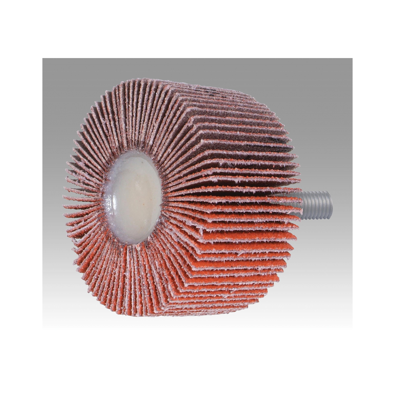 3M™ 051144-83271 Type 84 Unmounted Coated Flap Wheel, 2 in Dia, 1 in W Face, 60 Grit, Medium Grade, Ceramic Abrasive