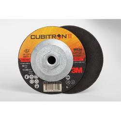 Cubitron™ II 051115-66534 COW Type 27 Cut-Off Wheel, 4-1/2 in Dia x 1/8 in THK, 36 Grit, Precision Shaped Ceramic Abrasive