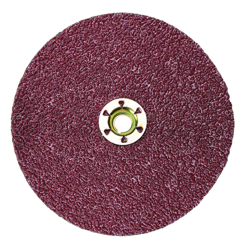 3M™ Cubitron™ II 051141-27405 982C Close Coated Premium Quick-Change Closed Coated Abrasive Disc, 7 in Dia Disc, 36+ Grit, Extra Coarse Grade, Ceramic Abrasive, Quick-Change Type TN Attachment