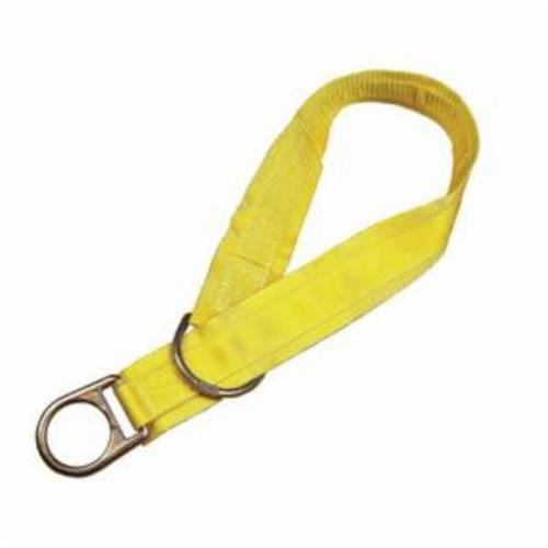 3M™ DBI-SALA® Fall Protection 1003000 Temporary Cross Arm Strap, 3 ft L x 3 in W, Polyester/Steel, Yellow