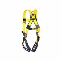 3M DBI-SALA Fall Protection 1101251 Delta™ Multi-Purpose Harness, S, 420 lb Load, Repel™ Polyester Strap, Tongue Leg Strap Buckle, Quick-Connect Chest Strap Buckle, Yellow