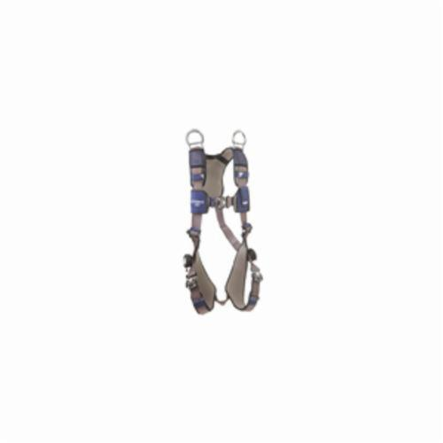 3M DBI-SALA Fall Protection 1113070 ExoFit™ NEX™ Retrieval Harness, XL, 420 lb Load, Repel™ Polyester Strap, Quick-Connect Leg Strap Buckle, Quick-Connect Chest Strap Buckle, Steel/Aluminum Hardware, Gray