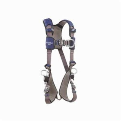 3M DBI-SALA Fall Protection 1113082 ExoFit™ NEX™ Climbing Positioning Harness, L, 420 lb Load, Repel™ Polyester Strap, Quick-Connect Leg Strap Buckle, Quick-Connect Chest Strap Buckle, Steel/Aluminum Hardware, Gray
