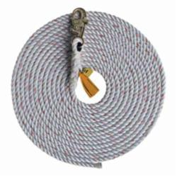 3M DBI-SALA Fall Protection 1202754C Vertical Rope Lifeline, 310 lb Load Capacity, 30 ft L, Specifications Met: ANSI Z359, OSHA Approved