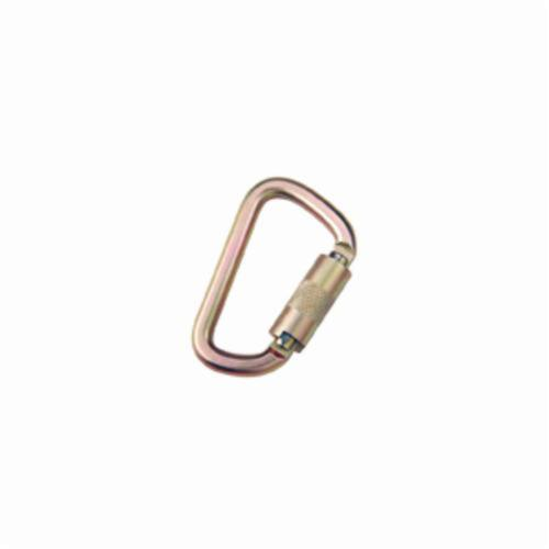 3M DBI-SALA Fall Protection 2000112 Saflok™ Reusable Fixed Carabiner, 310 to 420 lb Load, Stainless Steel