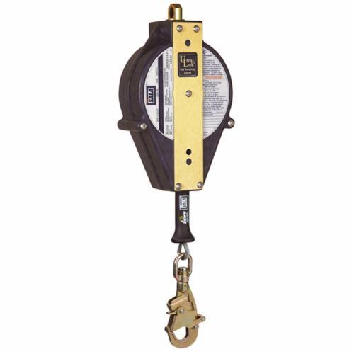 3M DBI-SALA Fall Protection Ultra-Lok™ 3504431 Self-Retracting Lifeline With Swivel Snap Hook, 310 lb Load Capacity, 30 ft L, Specifications Met: ANSI A10.32, ANSI Z359.14, OSHA 1910.66, OSHA 1926.502