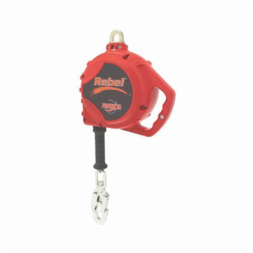 3M DBI-SALA Fall Protection 3590550 Rebel™ Self-Retracting Lifeline With Locking Snap Hook, 420 lb Load Capacity, 50 ft L, Specifications Met: ANSI A10.32, ANSI Z359.1, ANSI Z359.14, OSHA 1910.66, OSHA 1926.502