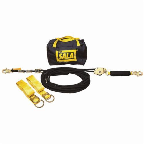 3M DBI-SALA Fall Protection Sayfline™ 7600507 Horizontal Lifeline System, 310 lb Load Capacity, 70 ft L, Specifications Met: OSHA 1910.66, OSHA 1926.502