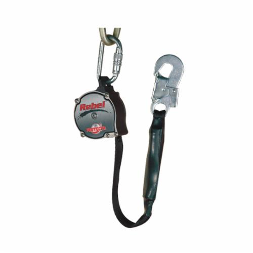 3M DBI-SALA Fall Protection AD111A Rebel™ Self-Retracting Lifeline With Snap Hook, 310 lb Load Capacity, 11 ft L, Specifications Met: ANSI Z359.14, OSHA 1910.66, OSHA 1926.502