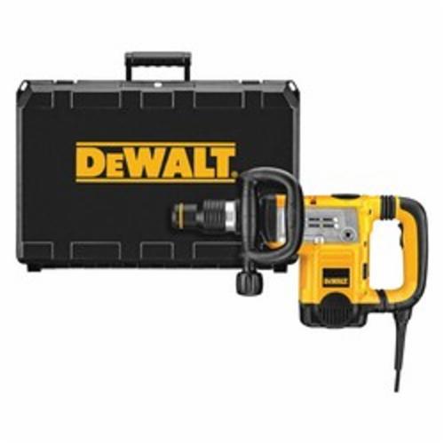 DeWALT® D25831K Corded Demolition Hammer Kit With Shocks™ Vibration Control, 1430 to 2840 bpm, 3/4 in Chuck, 7 Speed Setting