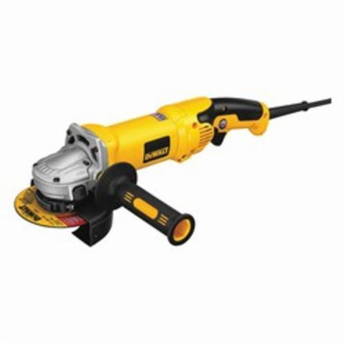 Black+Decker® D28115 High Power Small Angle Grinder, 4-1/2 in, 5 in Wheel, 5/8-11, 2.3 hp, 120 VAC, Yellow, Tool Only