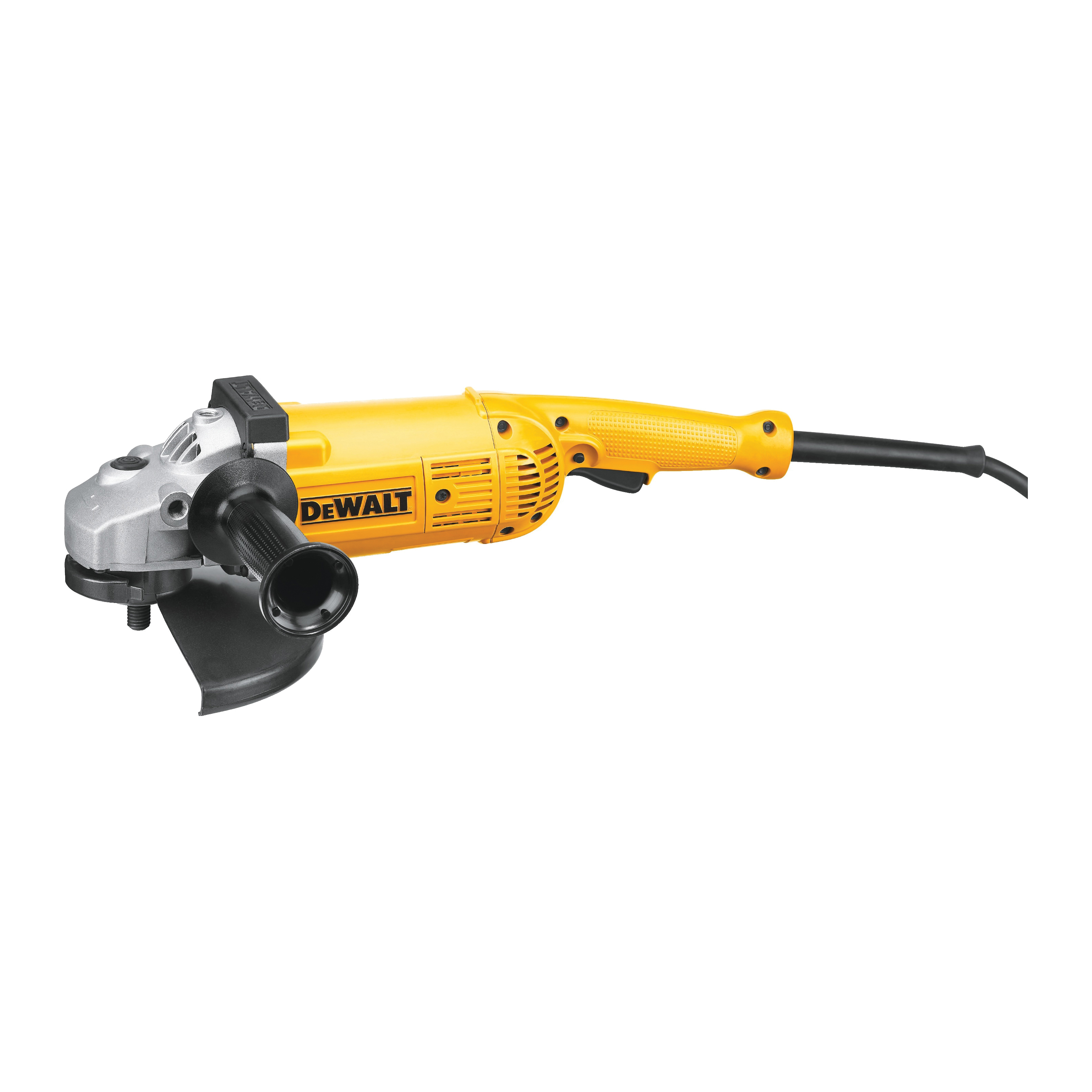 DeWALT® D28499X Large Angle Grinder, 7 in, 9 in Dia Wheel, 5/8 in Arbor/Shank, 120 VAC, Yellow, Lock-On-Off Trigger Switch
