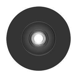 DeWALT® DAJHXHMD01 Medium Density Backing Pad, 5 in Dia Pad, Locking Nut Attachment