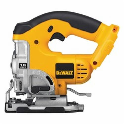 DeWALT® DC330B Cordless Jig Saw With Keyless Blade Change, 18 VDC, For Blade Shank: T-Shank, 11-1/4 in OAL, NiCd Battery