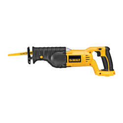 DeWALT® DC385B High Performance Cordless Reciprocating Saw, 1-1/8 in L Stroke, 0 to 3000 spm, Straight Cut, 18 VDC, 15 in OAL