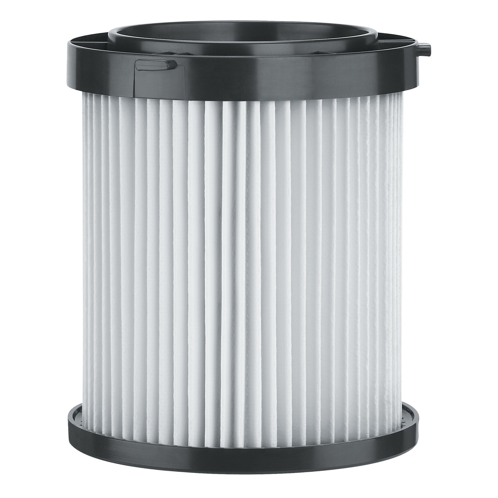 DeWALT® DC5001H Replacement HEPA Filter, Polyester, White/Black, For Use With DC500 Wet/Dry Vacuum