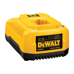 DeWALT® DC9310 Heavy Duty Fast Cordless Vehicle Battery Charger, For Use With DeWALT® 7.2 to 18 V NiCd/NiMH/Lithium-Ion Battery, Lithium-Ion Battery, 1 hr Charging, 1 Battery