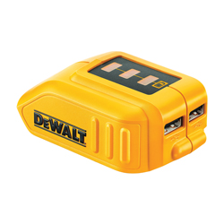 DeWALT® DCB090 Cordless USB Power Source, For Use With 12/20V MAX Series Lithium-Ion BatMax, Lithium-Ion Battery, 1 hr Charging, 2 Batteries