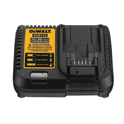 DeWALT® 12V/20V MAX* DCB115 Battery Charger, For Use With DeWALT® 12 to 20V MAX* Lithium-Ion Batteries, Lithium-Ion Battery, 1.5 hr Charging, 1 Battery