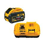DeWALT® 20V/60V MAX* DCB118X1 Cordless Charger, For Use With 20V MAX*, 60V MAX* and 120V MAX* Cordless Tools, Lithium-Ion Battery, 1 hr Charging, 1 Battery