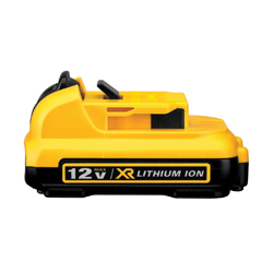 DeWALT® DCB127 Slide-On Cordless Battery Pack, Lithium-Ion Battery, For Use With 12 V Max Tools