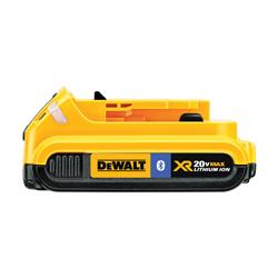 DeWALT® 20V MAX* MATRIX™ DCB203BT Slide With Bluetooth, 2 Ah Lithium-Ion Battery, 20 VDC Charge, For Use With DeWALT® 20 V MAX TMAX