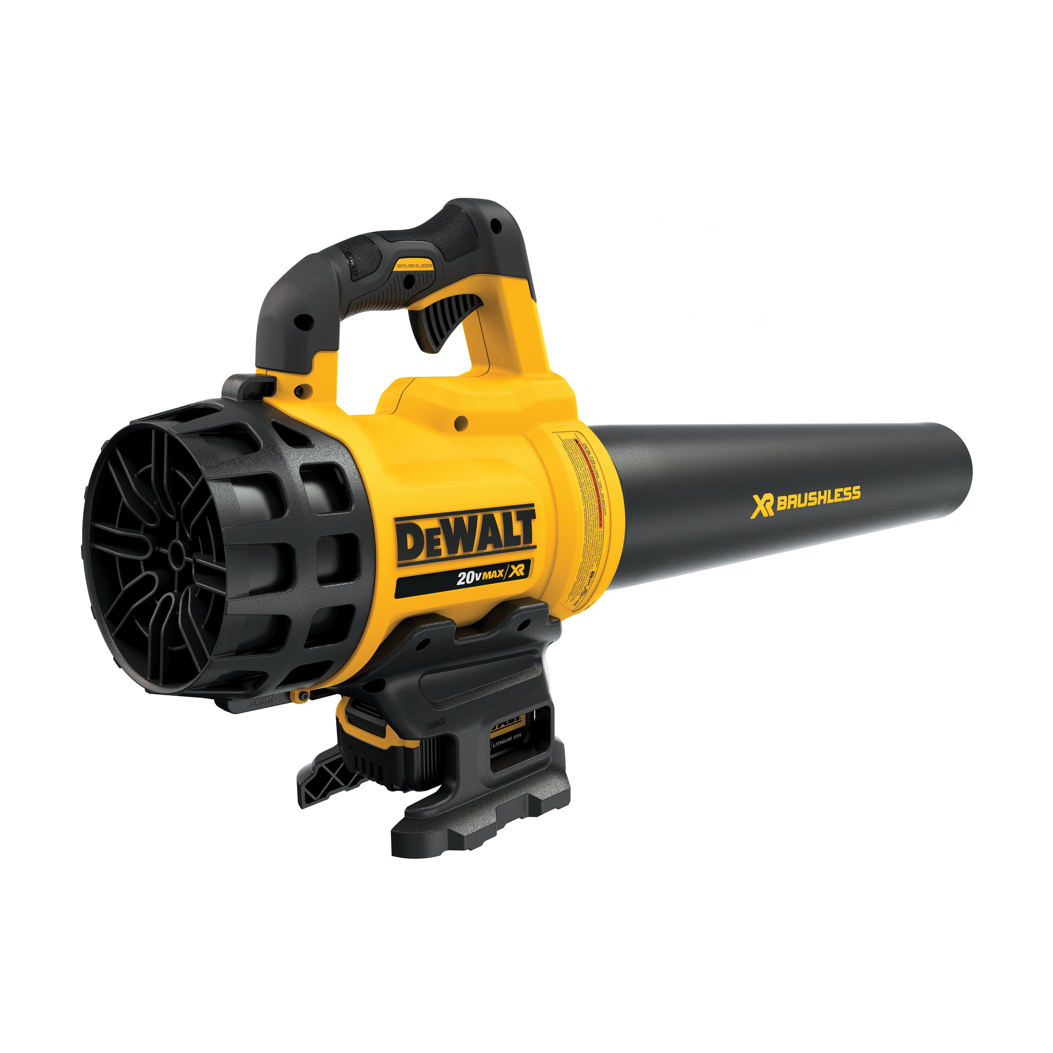 DeWALT® 20V MAX* MATRIX™ DCBL720P1 XR® Brushless Handheld Lightweight Cordless Blower Kit, 400 cfm Air Flow, 90 mph Air Velocity, 20 V 5 Ah Lithium-Ion Battery