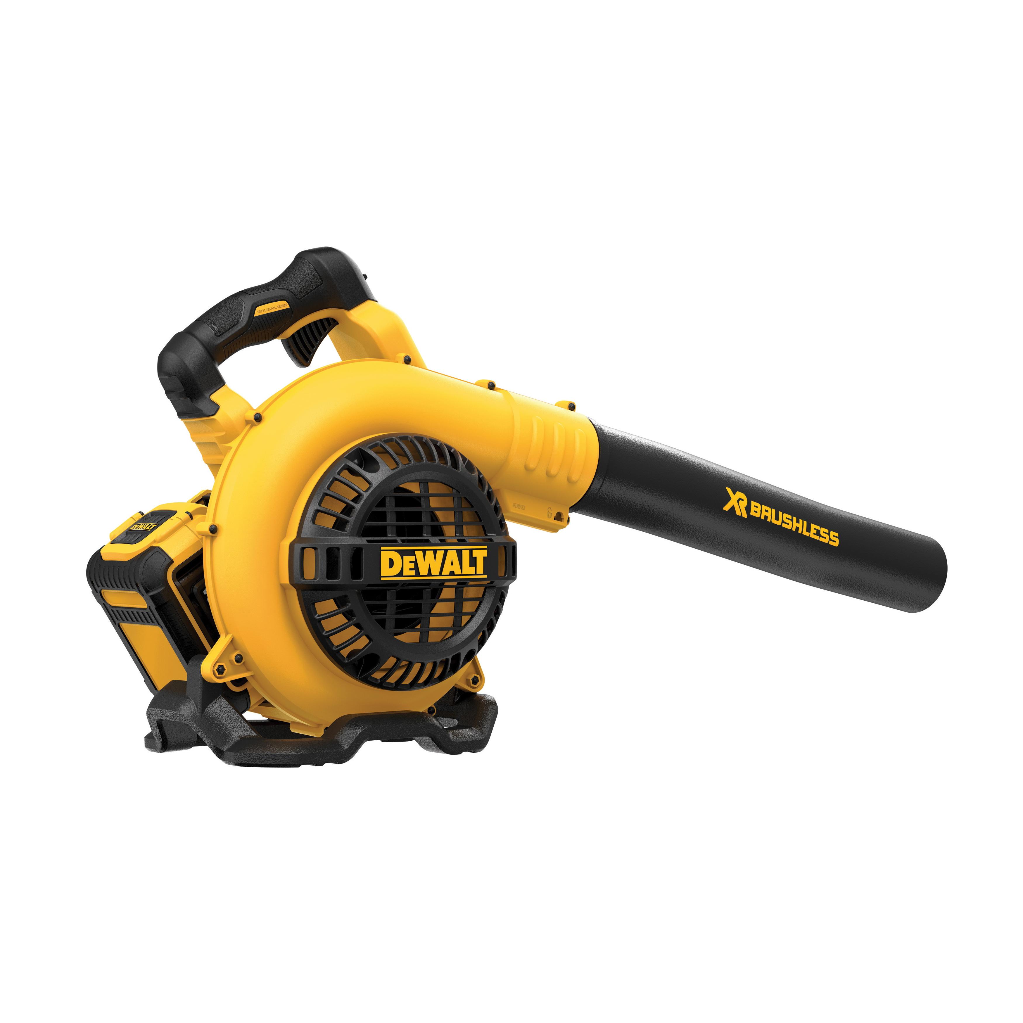 DeWALT® MAX XR® DCBL790H1 Brushless Handheld Lightweight Cordless Blower Kit, 400 cfm Air Flow, 120 mph Air Velocity, 40 V 6 Ah Lithium-Ion Battery