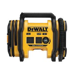 DeWALT® DCC020IB 20V MAX Corded/Cordless Air Inflator, 1/4 in Thread, 29 in High Pressure Hose, Plastic